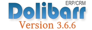 Dolibarr Version 3.6.6