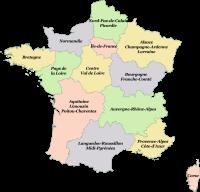 Régions de France au 1er janvier 2016