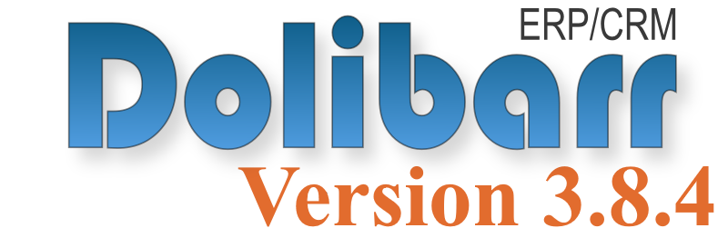 dolibarr version 3 8 4 mon dolibarr by a3sys. Black Bedroom Furniture Sets. Home Design Ideas